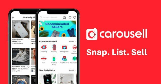 How to Earn Money Online - carousell app