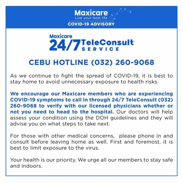 Health Insurance Coverage for COVID-19 - Maxicare