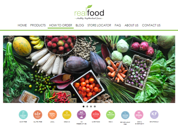Online Grocery Delivery in the Philippines - Real Food
