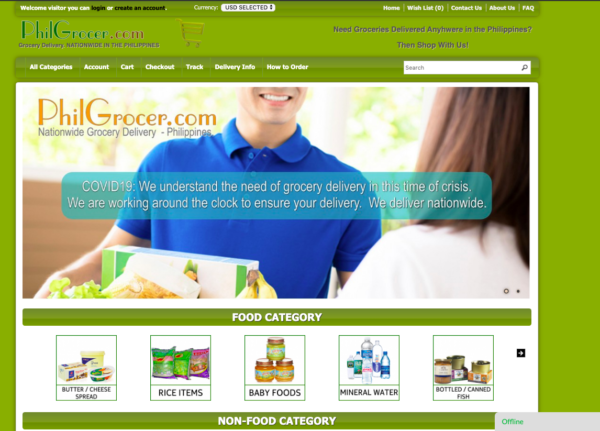 Online Grocery Delivery in the Philippines - PhilGrocer