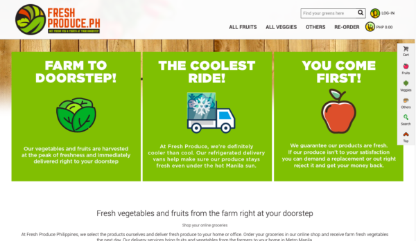 Online Grocery Delivery in the Philippines - Fresh Produce PH