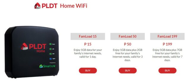 Prepaid WiFi - PLDT Home WiFi loading