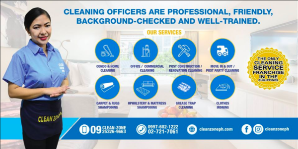 House Cleaning Services in Metro Manila - Clean Zone PH