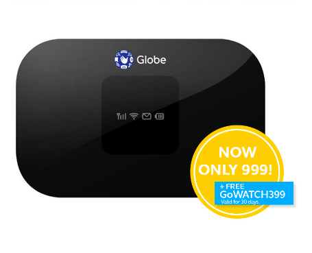Pocket WiFi in the Philippines - Globe Pocket WiFi