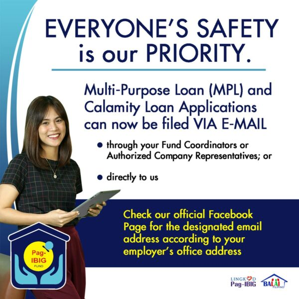 COVID-19 Government Assistance - Pag-IBIG Multi-Purpose Loan