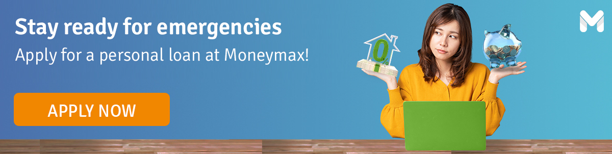 Get a personal loan from Moneymax!