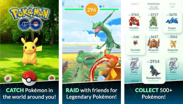 Mobile Games - Pokemon Go