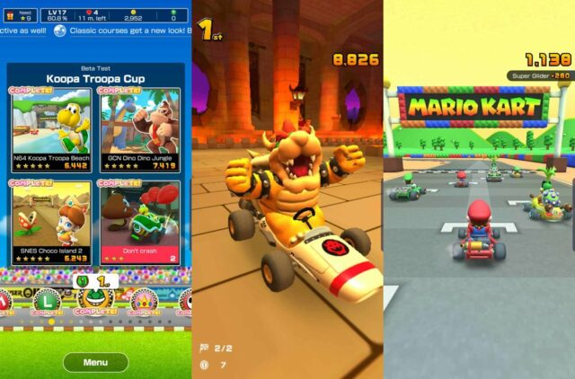 Mobile Games - Mario Kart Tour