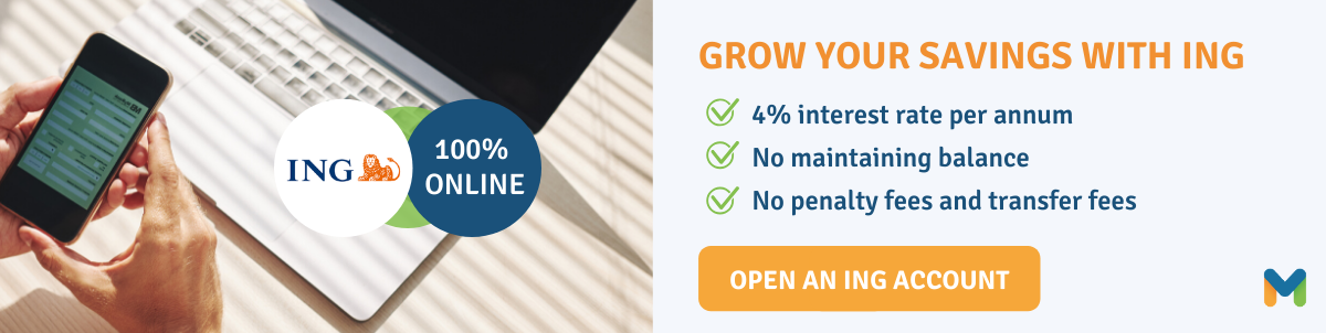 Grow your savings with ING Philippines!