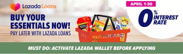 Lazada Loans Guide - Lazada header