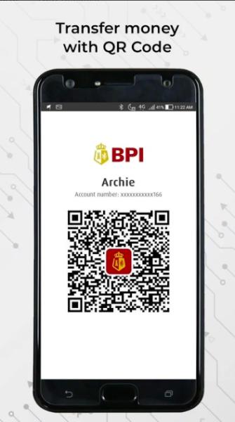 BPI Online Banking Guide - QR Code Money Transfer