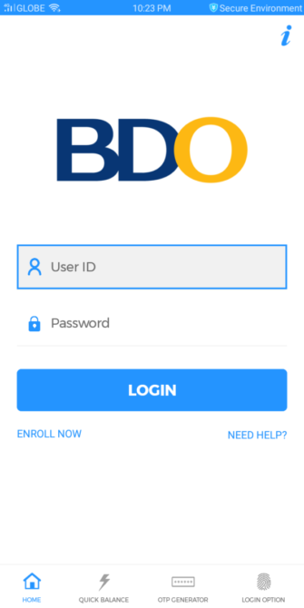 BDO Online Banking Guide - How to Active BDO Online Banking