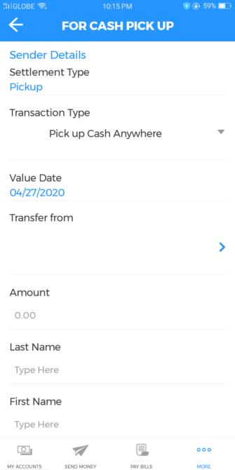 BDO Online Banking Guide - Cash Pickup