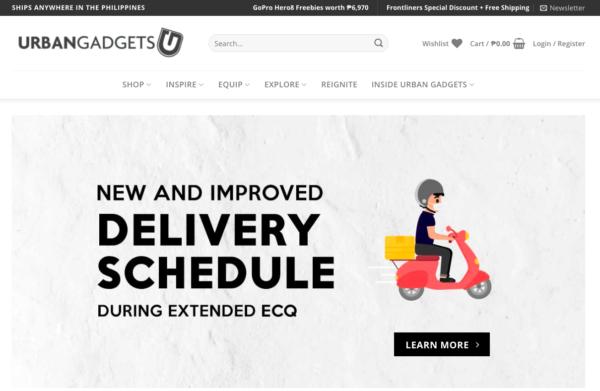 Online Gadget Stores Operating During ECQ - Urban Gadgets