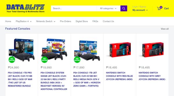 Online Gadget Stores Operating During ECQ - DataBlitz