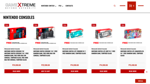 Online Gadget Stores Operating During ECQ - GameXtreme