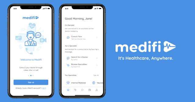 Online Medical Consultation - Medifi app
