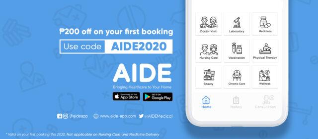 Online Medical Consultation - AIDE app