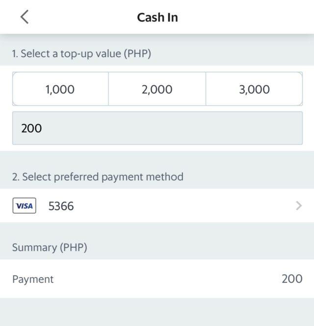 GrabPay - Debit Credit Card