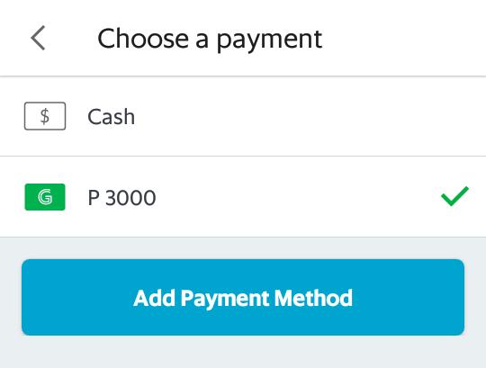 GrabPay - payment method