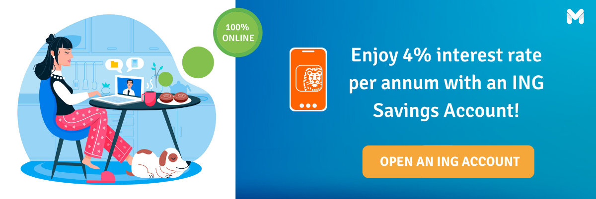 Open an ING Savings Account today!