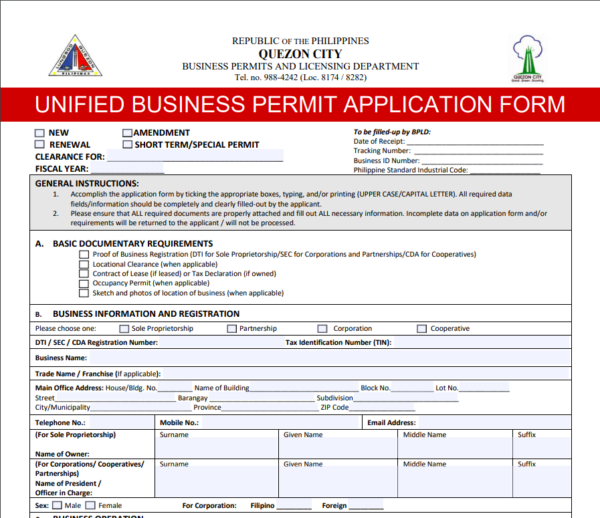 Business Permit Application in the Philippines - How to apply