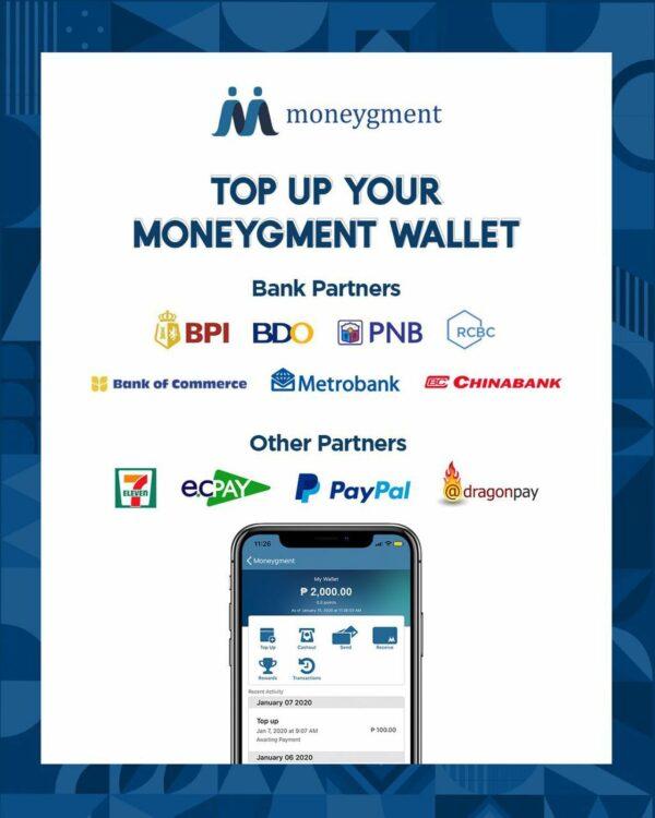 Moneygment App Guide - Moneygment Top Up