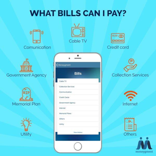 Moneygment App Guide - Moneygment Bills Payment