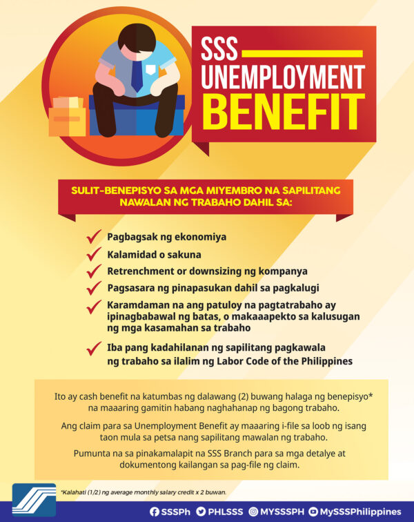Unemployment in the Philippines: How to Financially Recover - SSS Unemployment Benefits
