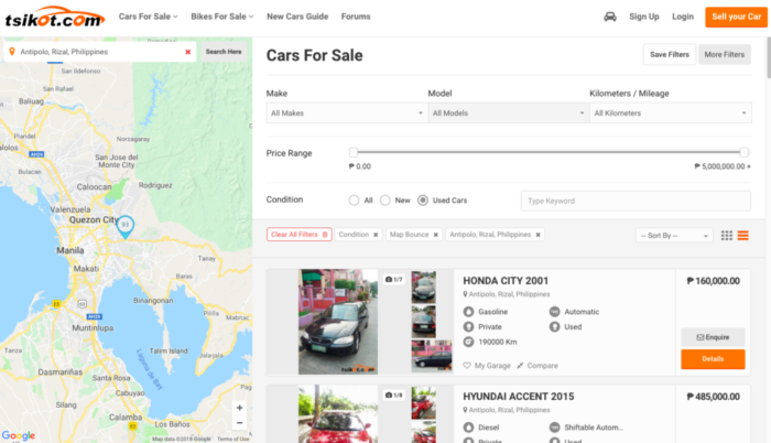 where to buy second hand cars - tsikot.com