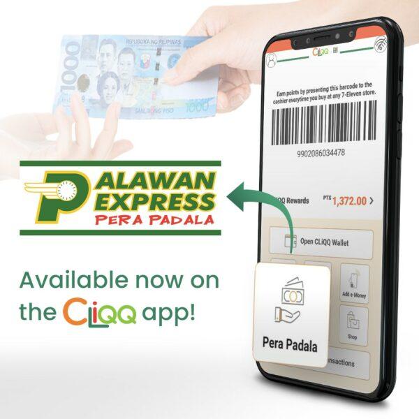 7-11 CLiQQ App - How to Send Money via Palawan Express
