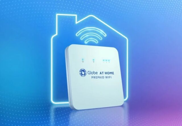 work from home essentials - globe at home prepaid wifi