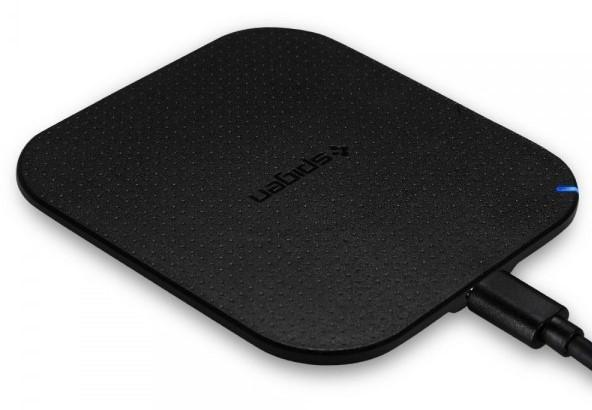 work from home essentials - spigen wireless charger