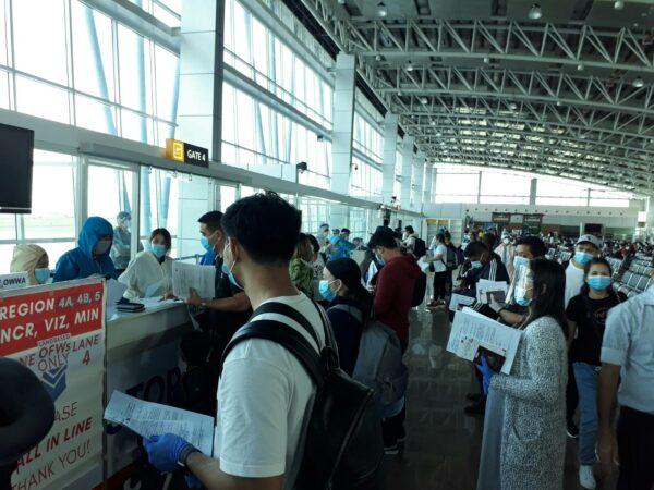 OFW Repatriation Guide - Arrival procedures