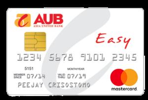 aub credit card review - aub easy mastercard