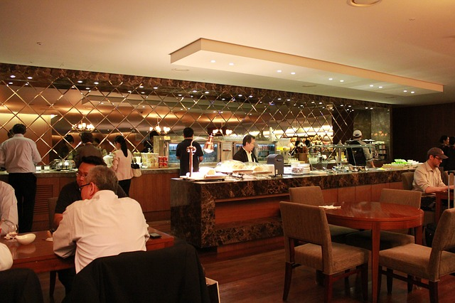 aub credit card review - airport lounge