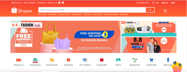 Online Shopping Sites Philippines - Shopee