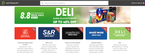 Online Shopping Sites Philippines - MetroMart
