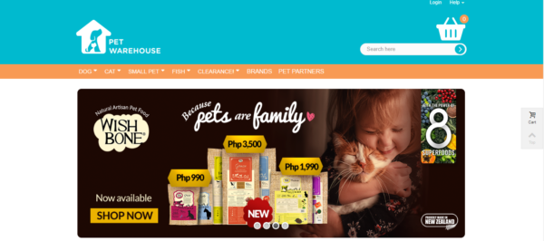 Online Shopping Sites Philippines - Pet Warehouse