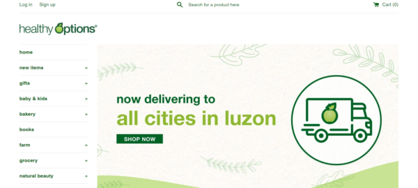 Online Shopping Sites Philippines - Healthy Options