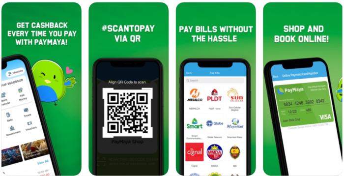 mobile wallet - paymaya