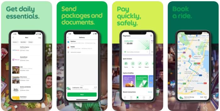 mobile wallet - grabpay