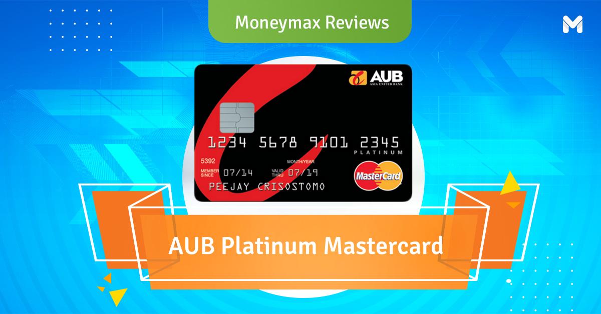AUB Platinum Mastercard Review   Moneymax Reviews