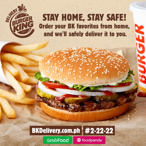 fast food delivery gcq - burger king