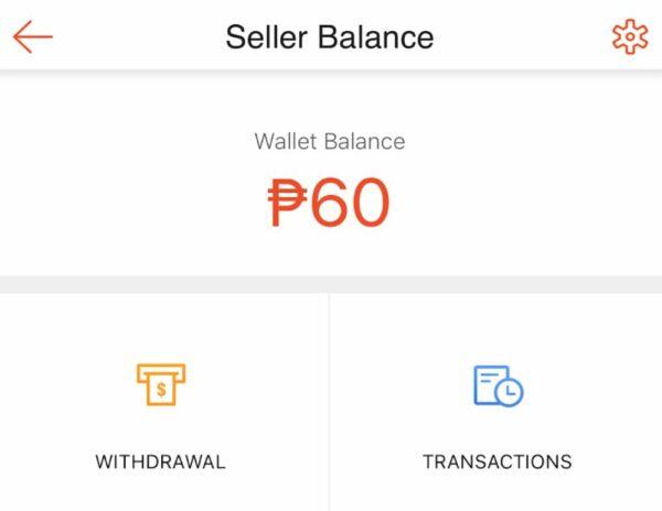 shopeepay guide - shopeepay seller balance
