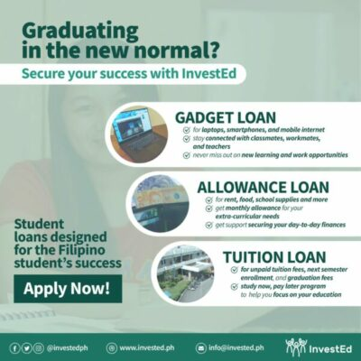 student loans in the philippines - invested tuition loan