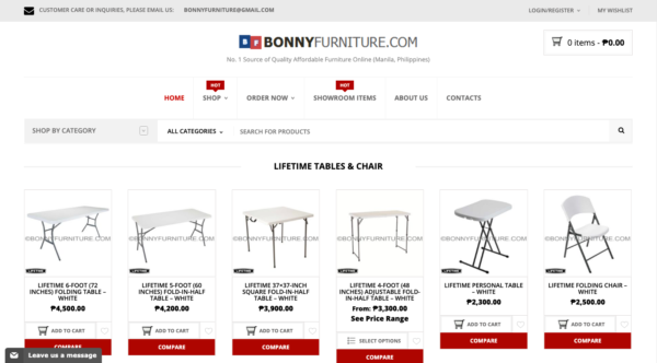 online furniture stores in the philippines - bonny furniture