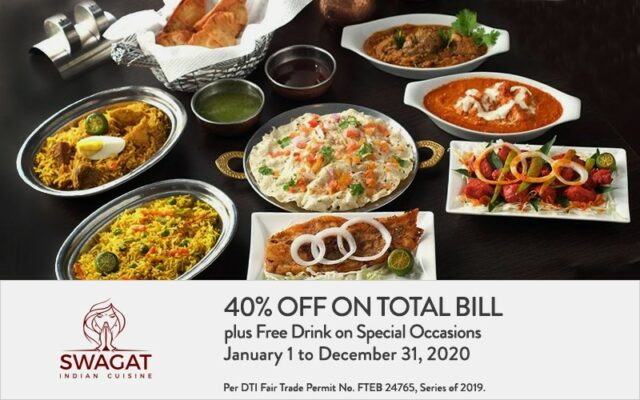 security bank credit card promo - swagat cuisine